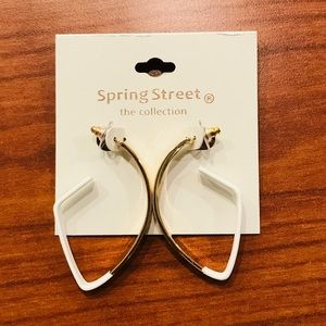 New spring street earrings